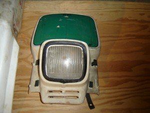 Vintage KTM Elba Headlight