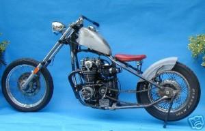 Yamaha XS650 Hardtail Bobber