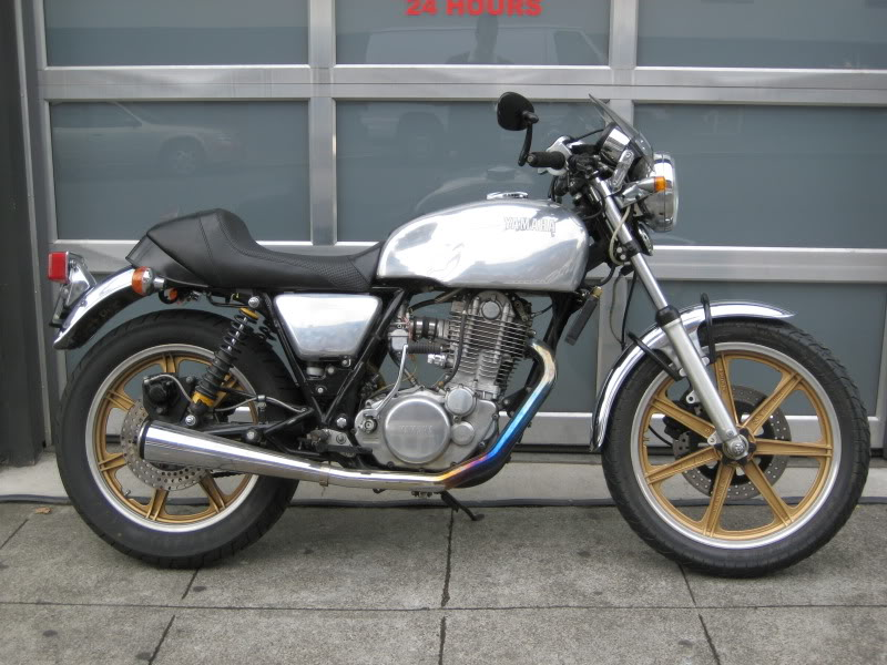 get a yamaha sr500 evan fell motorcycle worksevan fell motorcycle works