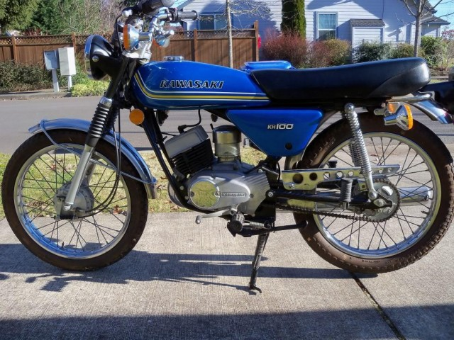 1976 Kawasaki KH100
