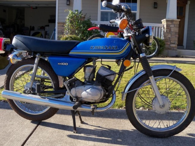 1976 Kawasaki KH100 2