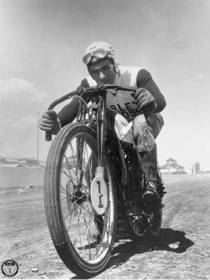1935 Joe Petrali Harley Davidson dirt track