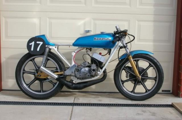 Kawasaki KH100 cafe racer