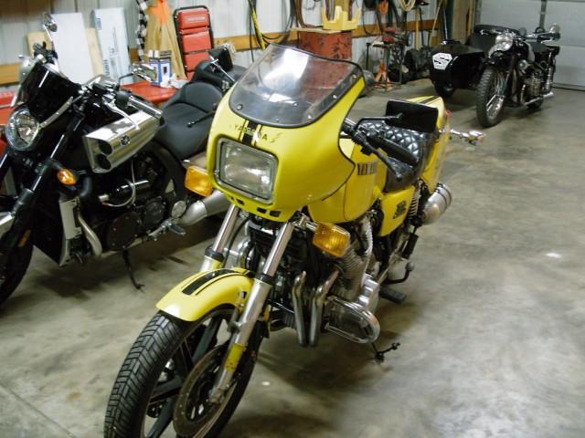 1980 Yamaha XS1100 Cafe Racer