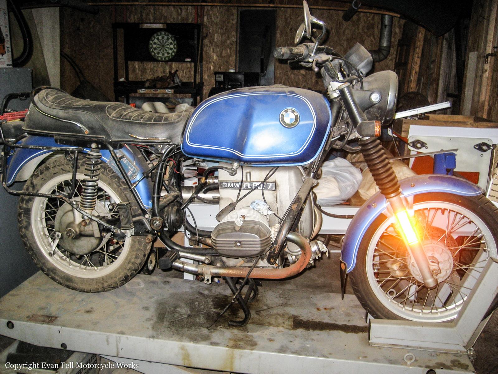 Rebuilding A Bmw R80 Airhead Transmission Evan Fell Motorcycle Works Gear Box Of 1978 Dusty