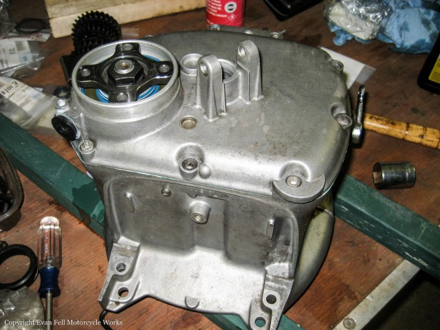 bmw-R80-transmission-reassembled